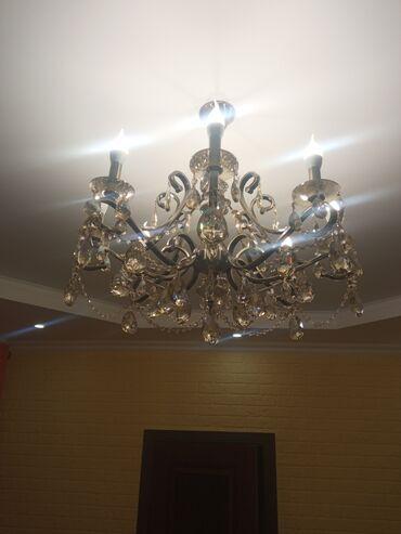 Люстра 8 лампочек