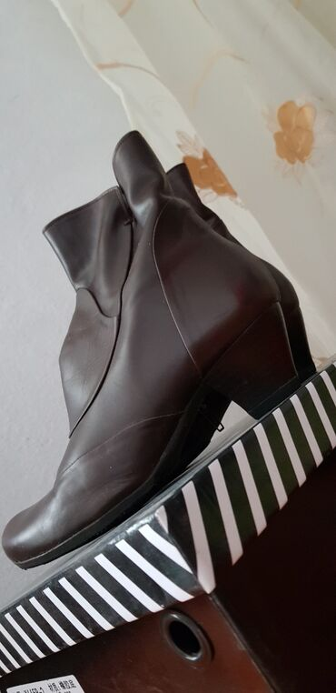 Ботиночки кожаные (италия)