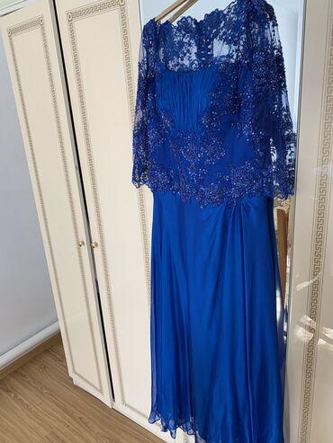 Вечернее платье турецкое . Куплено в Турции .расшит бисером . Одела од