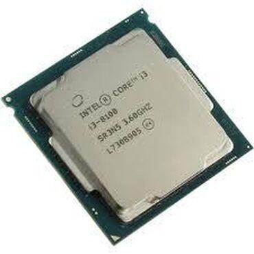 Prosessorlar - Azərbaycan: Intel® Core™ i3-8100 Processor6M Cache, 3.60 GHz# of Cores:4# of