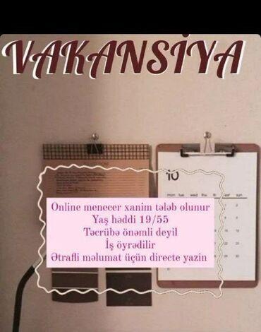бензопила craft tec в Азербайджан: Консультант сетевого маркетинга. Любой возраст. Неполный рабочий день