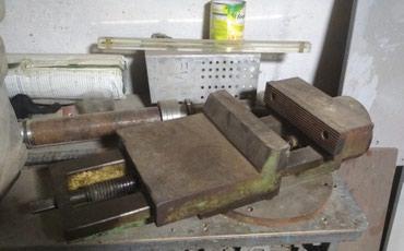 Тиски в Кыргызстан: Тиски большие станочные, тисы, тесы продаю. состояние отличное