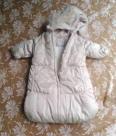 Детская одежда и обувь - Беловодское: Очень тёплый мягкий детский комбинезон. Подойдёт как для девочки так и