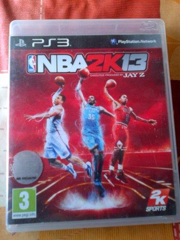 Igrice za ps3 - Srbija: NBA 2K 13 igrica za Sony Playstation 3 =ispravne su testirane=neke