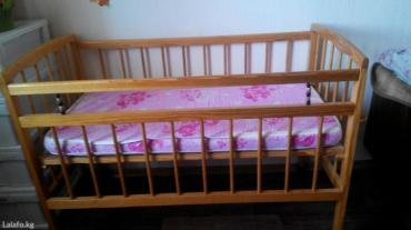 Детская деревянная (сосна) кроватка 0-5 в Шопоков