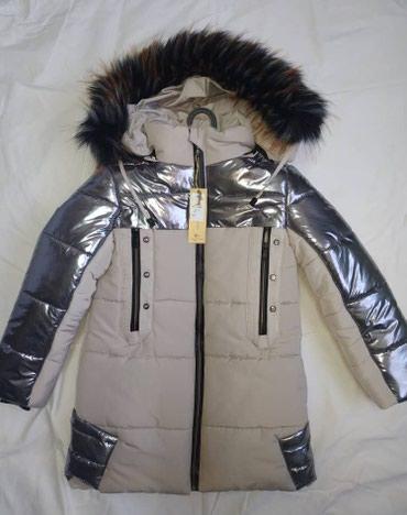 Зимняя куртка для девочек. Удлиненная в Бишкек
