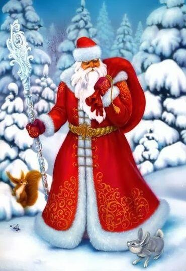 Выступление Деда Мороза и Деда Мороза со снегурочкой на вашем семейном