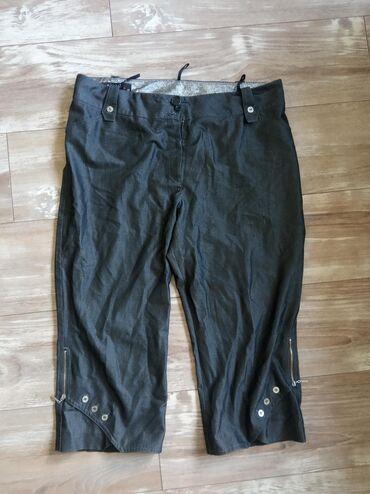 Zenske pantalone broj - Srbija: Zenske bermude, nisu nigde ostecene, malo su nosene. Broj 48