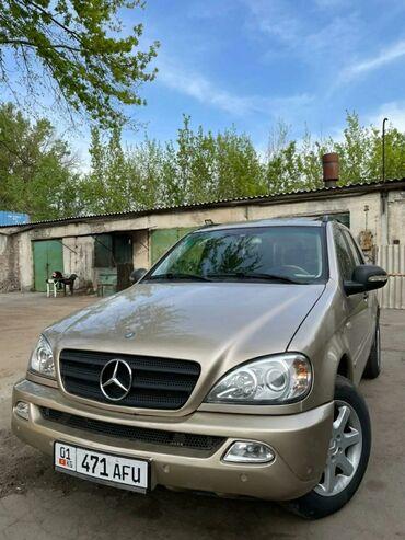 Mercedes-Benz M-Class 4.3 л. 2001 | 185000 км