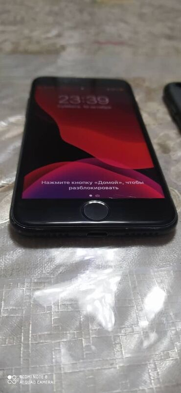 iphone бу цена в Кыргызстан: Б/У iPhone 7 128 ГБ Черный