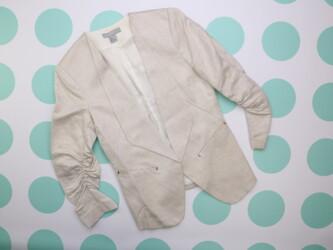 Женский пиджак-фрак H&M, р. XS    Длина: 57/65 см Пог: 42 см Рукав