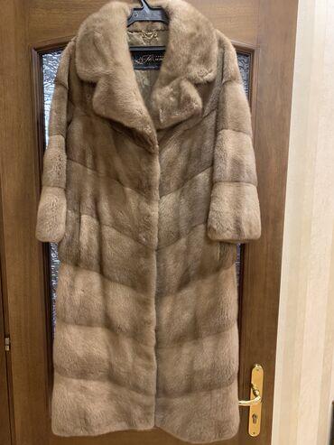 секционные ворота бишкек в Кыргызстан: Шикарная норковая шуба с английским воротником, абсолютна новая шуба