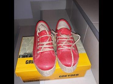 Ženska patike i atletske cipele | Uzice: Greyder crvene patike,br 38,kao nove nosene 3,4 puta