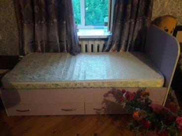 Продаю детскую кровать.  Односпальная, в Бишкек