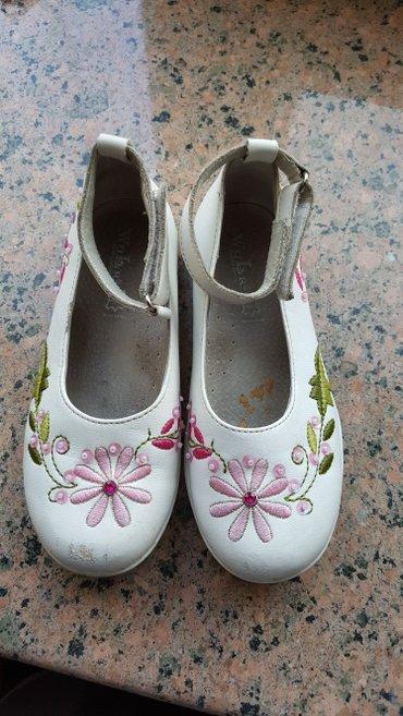 женские туфли кожа в Кыргызстан: Туфли б/у 27р натуральная кожа 250 сом в хорошем состоянии носочек