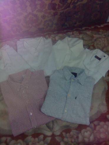 продаю муж. рубашки  б/у. размеры от 46  до  56., цена  от 50 сом., в Бишкек