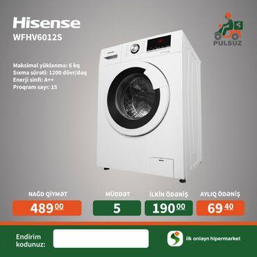 Washing Machine Hisense 6 kq