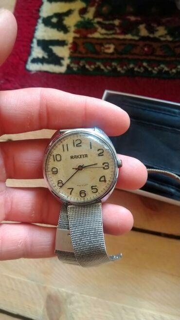 Антикварные часы в Кыргызстан: Ракета, работает идеально