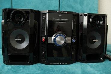 Gəncə şəhərində Panasonic - sa-vk480. Ideal vezziyetde. 5cd-dvd,mp3, radio-fm,