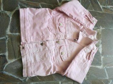 Dečije jakne i kaputi | Vranje: Jaknica,roze boje,za prelazno vreme. Za uzrazt 2-4god