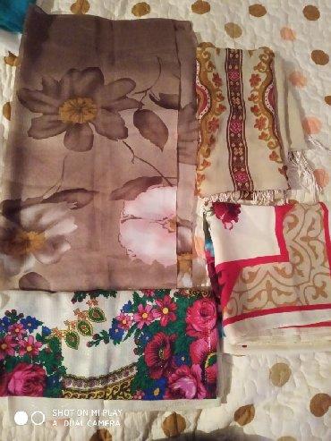 украшение шарфик в Кыргызстан: Платки и шарфики,новые и б/у,последний фиолет платок большой,новый