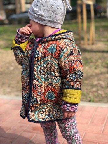 детские вязаные шапки ручной работы в Кыргызстан: Куртка детская Ручная работа Чапан