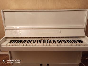 Продается пианино. Реставрированное Беларусь. Белое. 2 педали. Очень