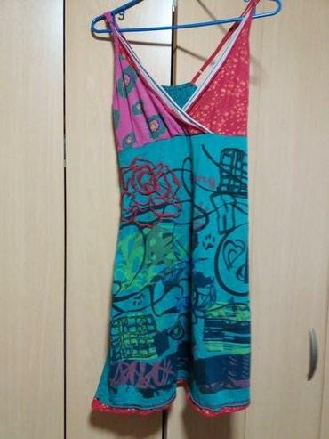 Nova letnja haljina radjena po Desiqual fazonu. savrsena i prijatna za - Uzice