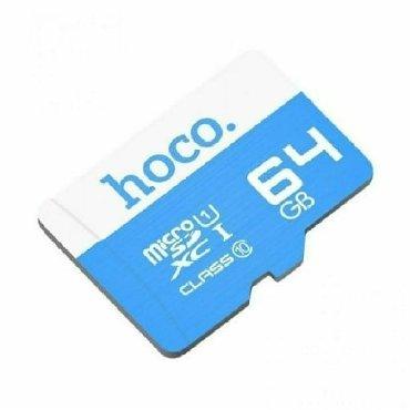micro-sd - Azərbaycan: Yaddaş kartı 64GB MİCRO SD CART Hoco brendi firmanın öz malıdır