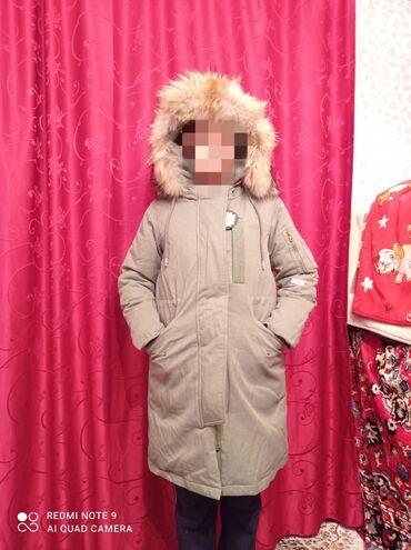 длинное платье темно зеленого в Кыргызстан: Срочно продаю Новую ПАРКУ. КОРЕЯ. Фабричная, качество отличное