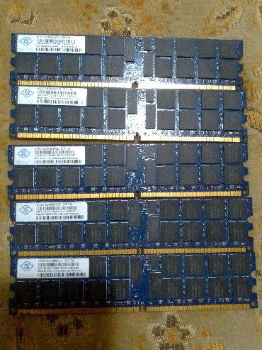 Ddr2 5x2gb =10gb JEFTINO 10gb ddr2 identicne uparene memorije rade u