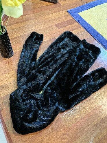 шикарная норковая шуба в Кыргызстан: Продается норковая шуба!!! Размер 42. Модель шубы практичная «поперечк