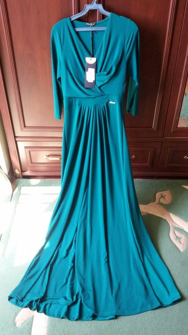 Платье 44-46 размер, цвет изумруд, в Бишкек