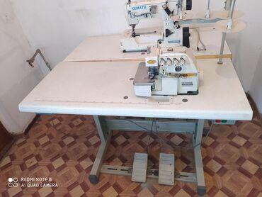 швейная машина веритас цена в Кыргызстан: Четырех нитка сатылат иштеши аябай жакшы жумшак тигет Бир кол менен