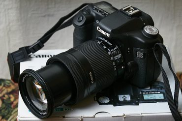 Canon50d 18-55 is II в Бишкек