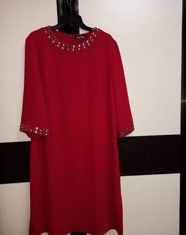 женское платье 54 в Кыргызстан: Продаётся шикарное турецкое платье Размер:46(Турция)фирма BOLERO подой