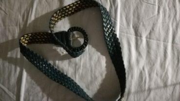 Blue belt for sale. Worn only once. σε Άγιοι Ανάργυροι