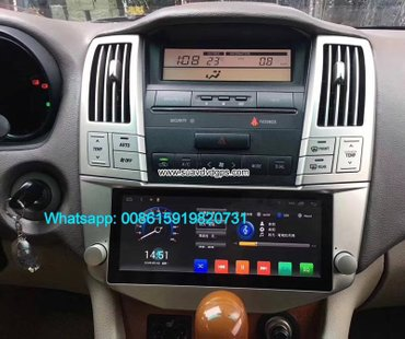 Toyota Harrier Car audio radio android GPS navigation camera in Kathmandu