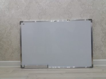 Доски стеклянная магнитно маркерная лаковые - Кыргызстан: Новая маркерная доска 60см на 90см