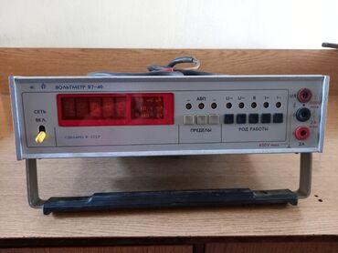 Вольтметр В7-40 Предназначен для измерения радиоэлектронной