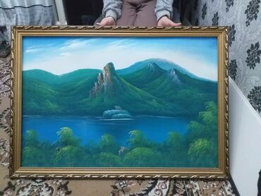 Продаю картину(репродукция) 60×90 см.Цена:500 сом
