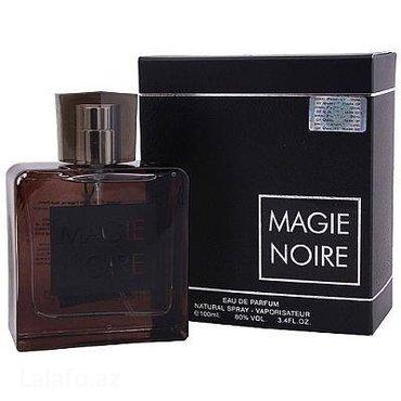 Xırdalan şəhərində Magie Noire.Dubay istehsalıdır,100 ml.