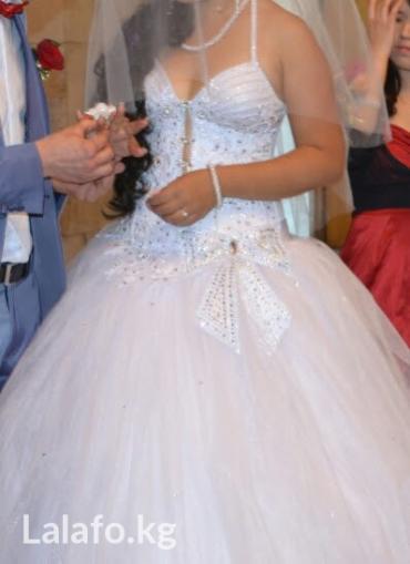 Платье привезено из польши. украшено в Бишкек