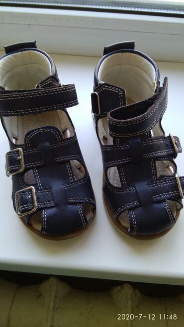 Детская обувь в Шопоков: Сандали для мальчика. Размер 25 (3-4 года) состояние отличное