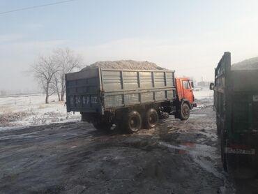 Купить камаз самосвал 65115 бу - Кыргызстан: Жом жом жом корм для скота КРС и МРС камаз боковая выгрузка самосвал