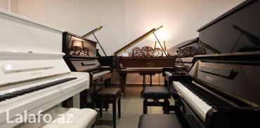 Bakı şəhərində Yeni ve 2-ci el pianolar - daşınma-köklenme mebleğe daxildir. Zemanet
