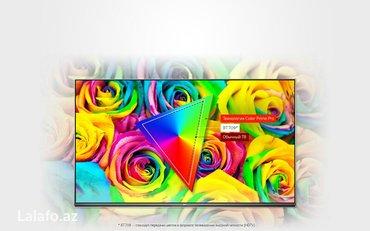 Bakı şəhərində Lg 108 ekran 4k smart televizor. Model 2017 ci il lg43uj634v smart int