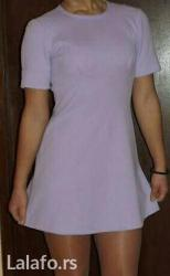 Haljina st - Srbija: Haljina boje lila. Nosena jedanput. Prodajem iz razloga sto mi je mala