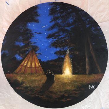 Romantic night camping 30 cm