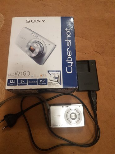 Фотоаппарат sony в отличном состоянии в Лебединовка